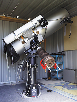 Our Observatory Telescope for astrophotography work