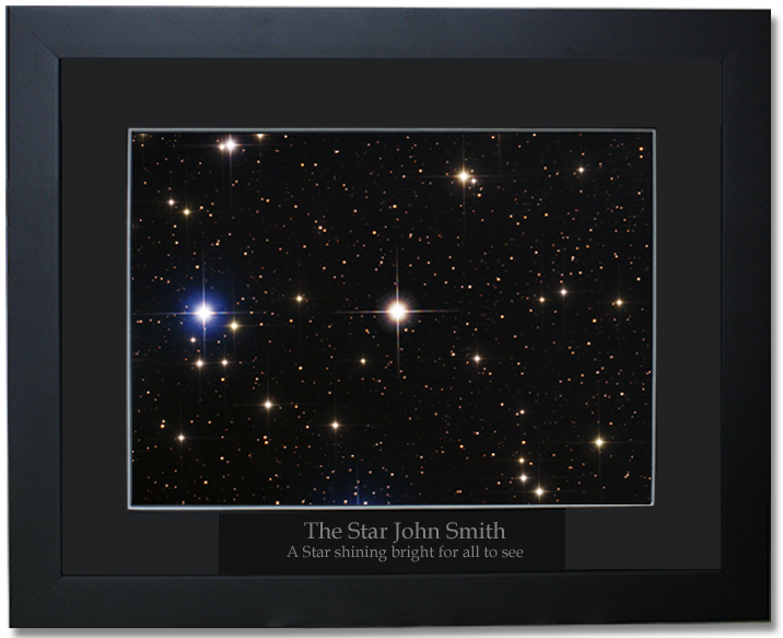 high quality professional framed photograph of your star